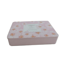 Rectangle Wholesale Tea Tin Promotional Tin Can Cookies Tin Boxes for Food Packaging