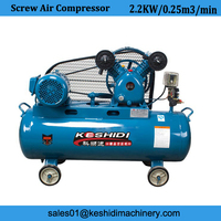 2.2kw household electric piston air compressor