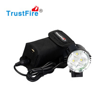 TrustFire D011 aluminum bike light mount on bicycle 2100LM head lamp T6 light bicycle front light with CE FCC certification