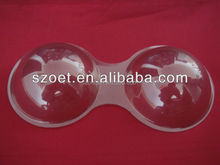 package tray for bra,blister bra tray, bra cup blister tray, PVC Trabparent Bra Cup f
