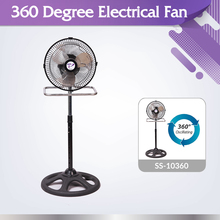 Functional industrial air cooler SS-10360 electrical 360 degree oscillation fan