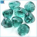 China Wholesale Turquoise Luster Diamonds Glass
