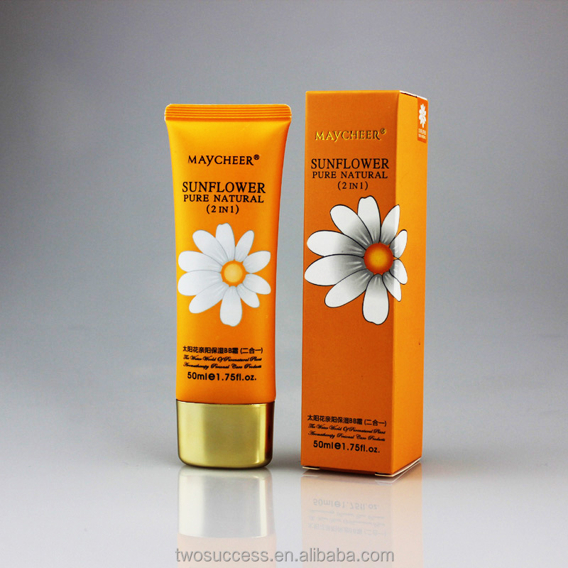 Natural Waterproof Moisturizing brightening concealing Liquid whitening special Sun BB Cream