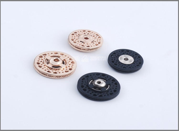 Copper Snap Two Parts Sewing Hidden Nylon Press Snap Button BM10822