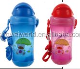 BPA free pp 250ml drink bottle with string for baby