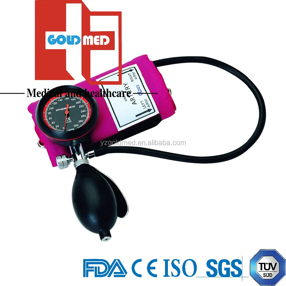 FDA Approved Palm Aneroid Sphygmomanometer (GAS-201M1)