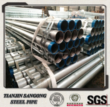 BS1387 ms hot dipped galvanized rigid steel conduit pipe class b