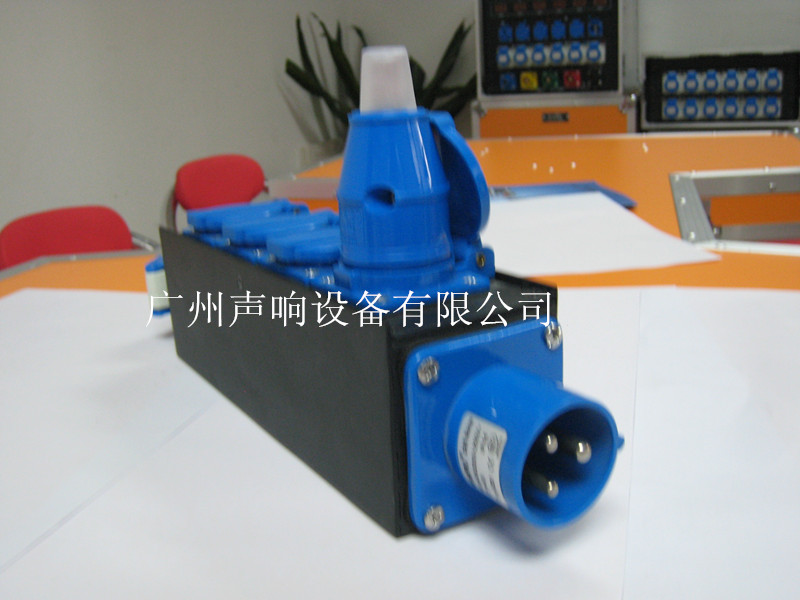 16A Power input powercon splitter box