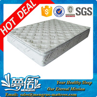 bedroom furniture bamboo pillow top pocket spring mattress