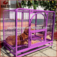 Modern Fashion Large Stainless Steel Galvanized Dog Cage