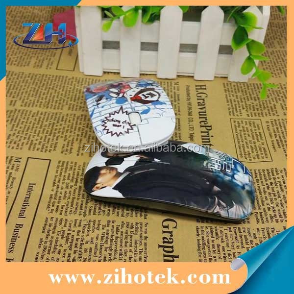 Blank 3D sublimation wireless computer mouse