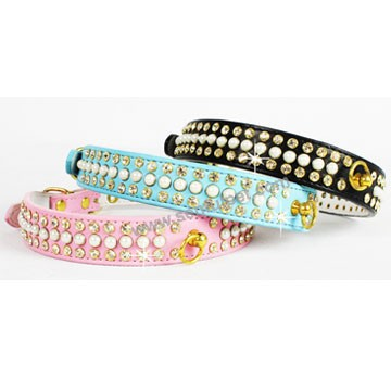 wholesale leather dog collars PU dog collars cat collars