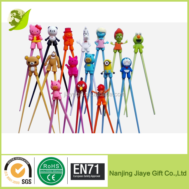 Multicolor Cartoon Silicone Chopstick Holder For Kids