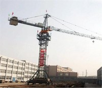 HONGDA Mobile Traveling Tower Crane , Moving Tower Crane with ISO&CE
