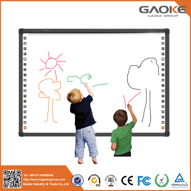 2017 Hot Sale Factory Wholesale Price Infrared Interactive Whiteboard Best Educational Tools Ultrasonic Technology For Teaching