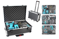 190pcs hand tool kit with aluminium case