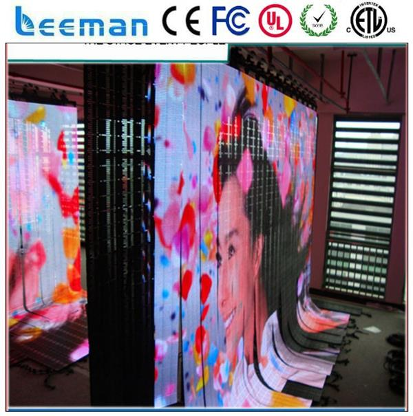 flexible round led video screen pantallas led flexible