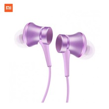 Original Xiaomi Earphones Piston Fresh 3 with Microphone Mic Handsfree Wire Control Xiomi In-ear 3.5M Support Noise Cancelling