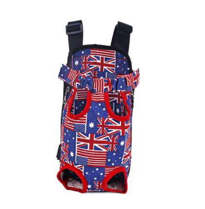 Hot Dog Carrier fashion Red Color Travel dog backpack breathable pet bags shoulder pet puppy carrier