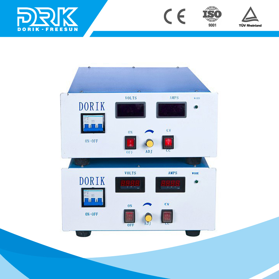 12V low ripple electronic plating dc regulated power supply