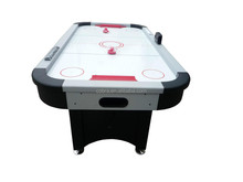 Best quality Flash Reconditioned 7feet ice air hockey table with electric scoring,puck,cake,manual counter included