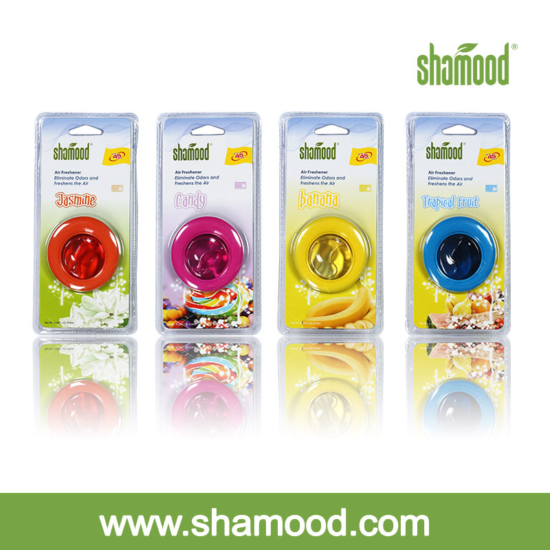 Shamood Manufacturer 2014 New Car Vent Air Freshener Perfume