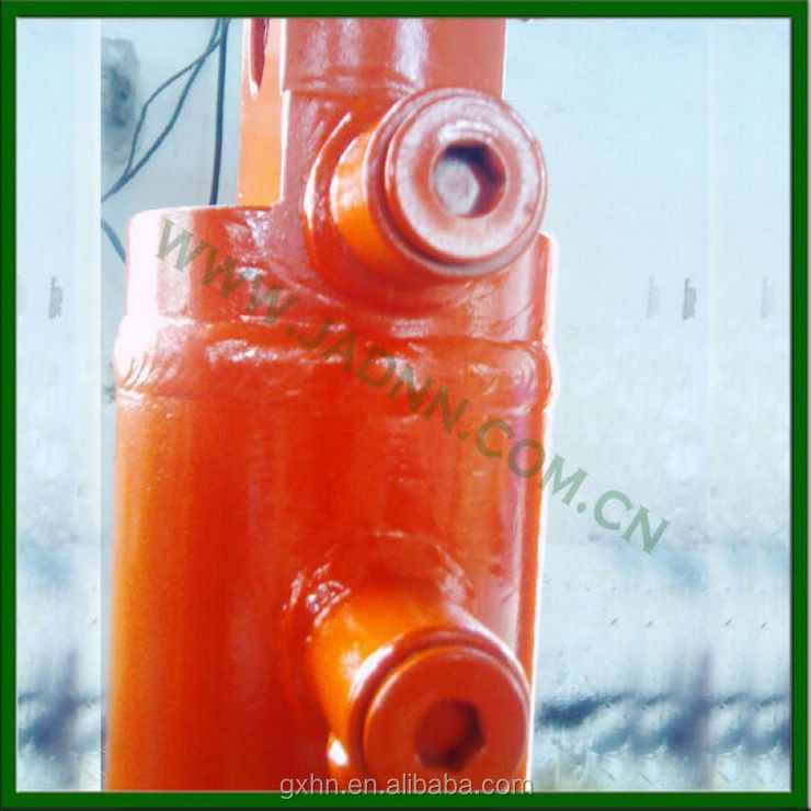 four stage hydraulic cylinder for dump truck