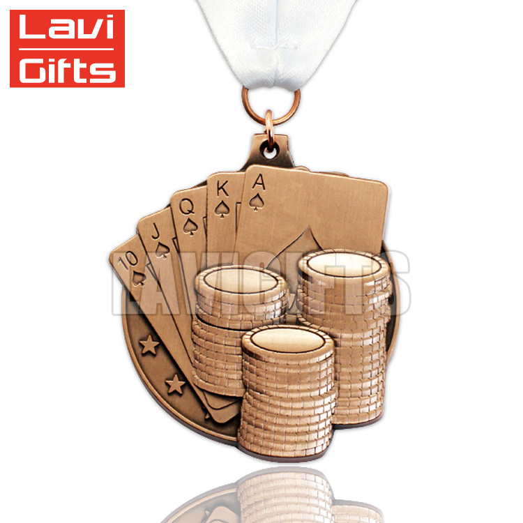 Custom size football medals With Discount