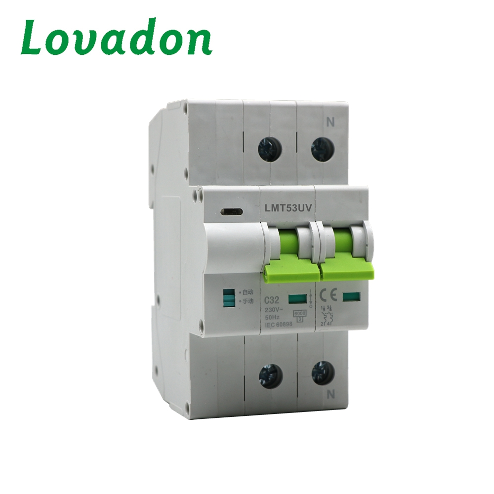 Reliable Quality Single Phase Automatic Reset Circuit Breaker With Over Under Voltage Protection Recloser