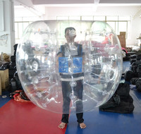 durable bubble ball for football
