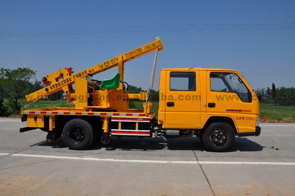 Truck mounted hydraulic post puller : Guality assurance truck mounted hydraulic highway