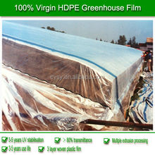 2013 New Professional Product Transparency HDPE Vegetable Greenhouse Film 120/160gsm 2-12m Width 80-200 micron Thickness