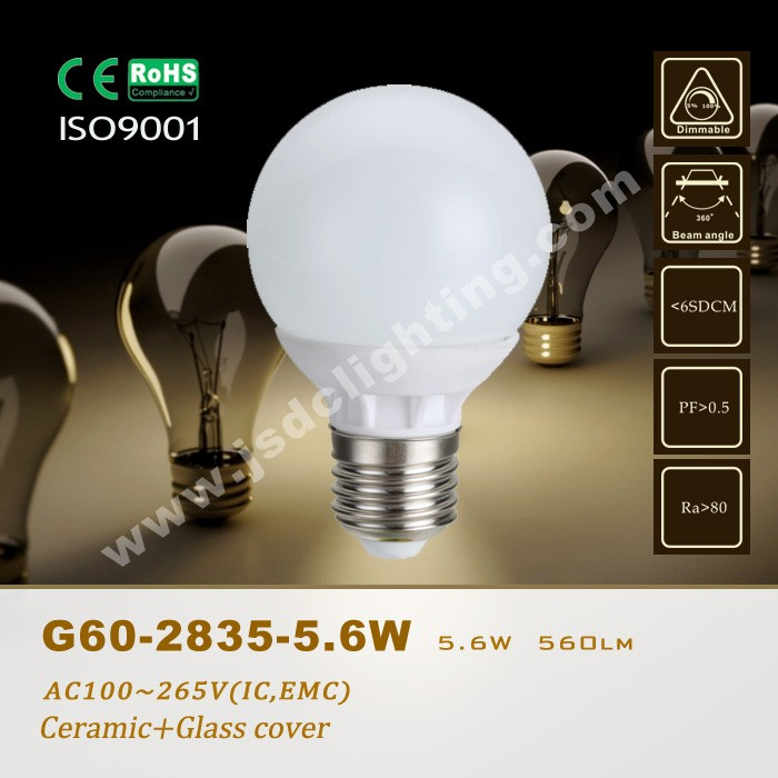 led e27 ceramic bulb lights