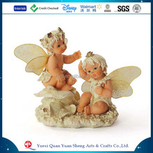 China Crafts Small Cheap Baby Angel Figurines Resin Angel