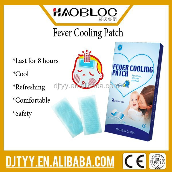 Fever Cooling Patch Gel Hot Cold Packs