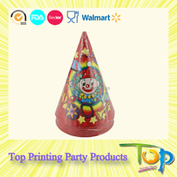 Promotion Custom Printed Birthday Paper Party Hat