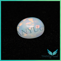 TianYu Gems african opal stone, opal cabochon stones, milky white opal