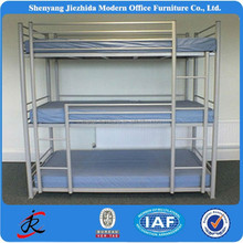 triple bunk bed iron prison bunk beds for hostels metal steel kids bunk bed