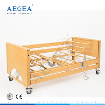 Hospital furniture classic 5 functions adjustable electric physical therapy healthcare used nursing home beds