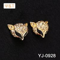 2016 Beautiful 14k gold diamond antiq jewelry earring jadau turkish druzy earrings