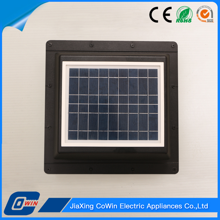 Factory Wholesale 10W Solar Panel Celling Fan