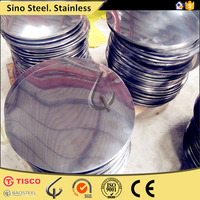 free sample cold rolled stainless steel ss 202 circle DDQ