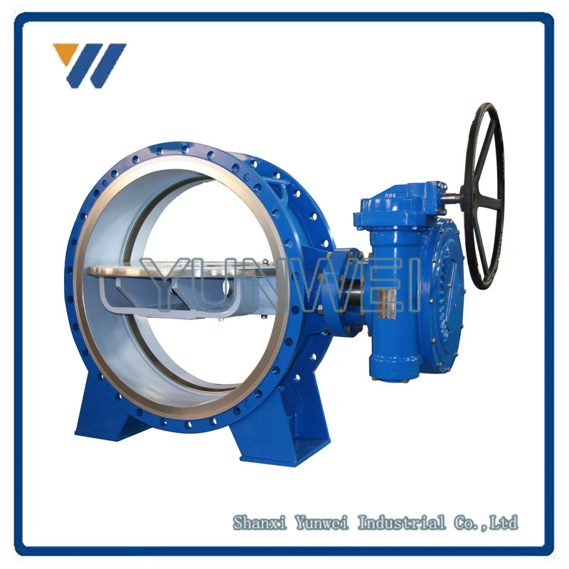 "Factory Supply High Quality 2""/4""/6""/8"" Cast Steel Butterfly Valve 600lb PN25 DN 200"