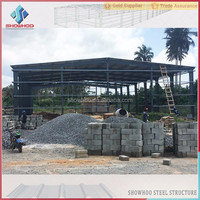 Low Cost 2 Story Warehouse Garage Prefab Steel Metal Building Structure for Shed