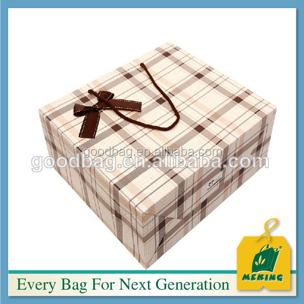 Brown kraft paper bags gift bags Cosmetics packaging box bags made in China fashion style 2016