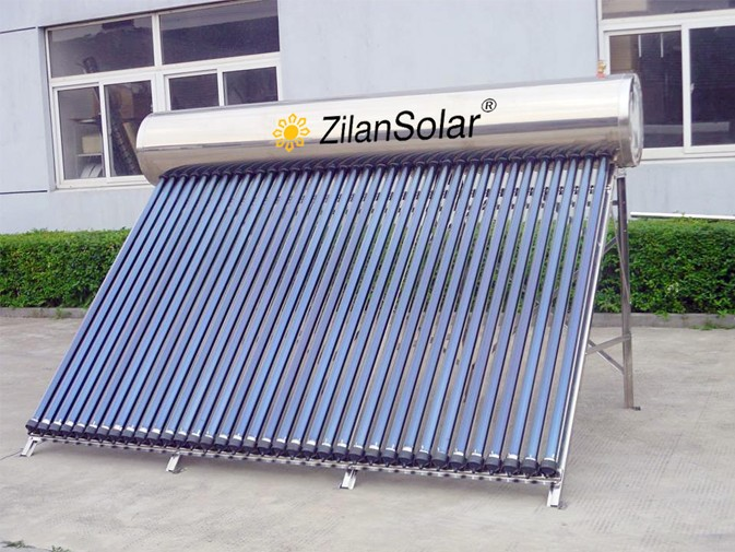 360liters stainless steel pressurized solar water heaters for cold places