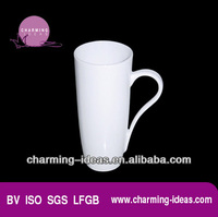 ceramic tall and slim mug