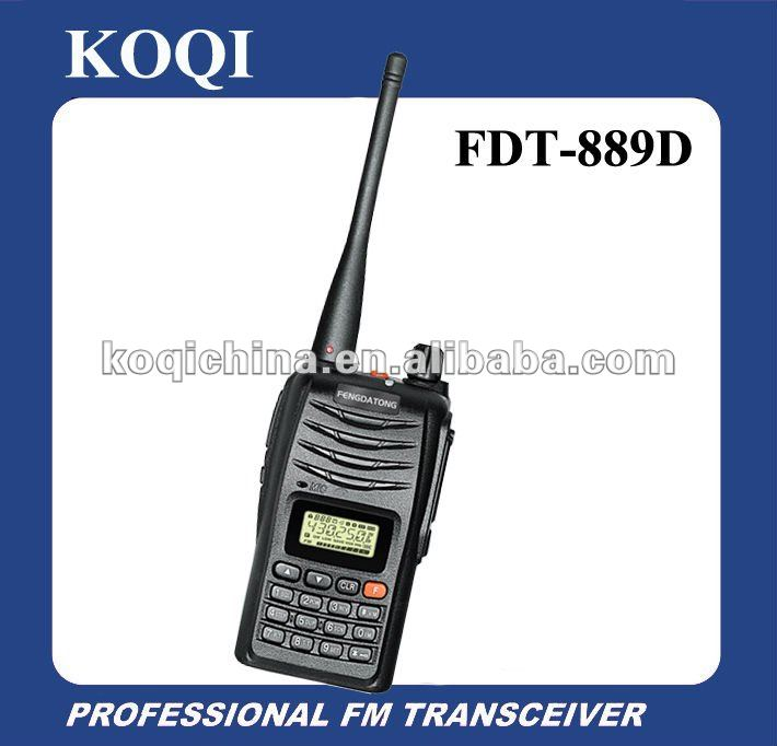 FDT-889D VHF/UHF Long Distance Handheld hand held radios