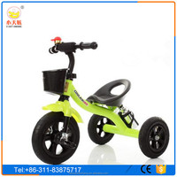 Manufacturer CE approved toy three wheels eec trike tricycle for baby