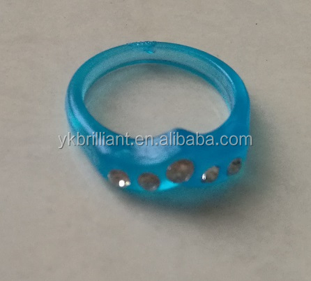 Plastic Drill rings Ornaments